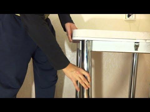 Вопрос: Как прикрепить ножки стола?