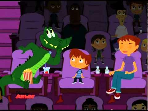 disney junior wie erziehe ich meinen alligator al im. Black Bedroom Furniture Sets. Home Design Ideas
