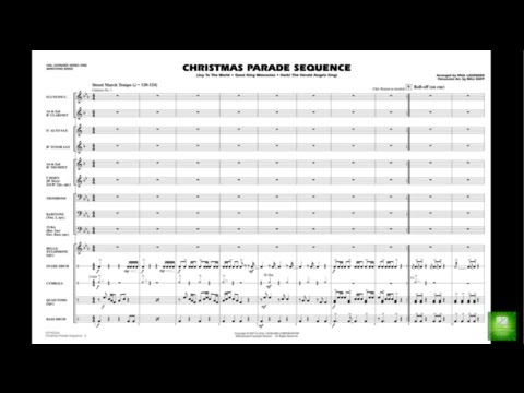 Christmas Parade Sequence arr. Paul Lavender & Will Rapp