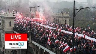 Marsz Niepodległości 2018 - LIVE