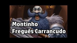 Hearthstone Voltando as Origens Guerreiro de Montinho #004