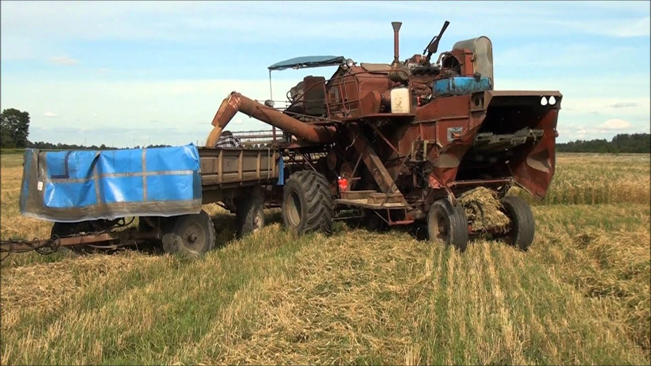 kombain sk 4 combine harvester sk 4 youtube. Black Bedroom Furniture Sets. Home Design Ideas