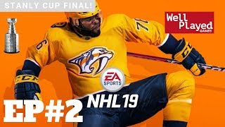 NHL 19 Stanley Cup Finals Ep2 W/ Air Val (Gameplay Series)
