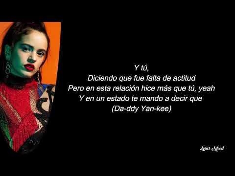 Sech, La Rosalia, Daddy Yankee, J balvin, Farruko – Relacion Remix LETRA
