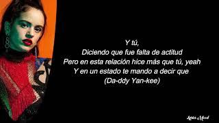 Sech, La Rosalia, Daddy Yankee, J balvin, Farruko - Relacion Remix LETRA