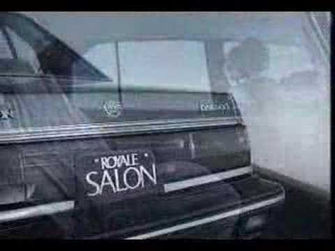 Daewoo Royale Salon 1987 commercial (korea)