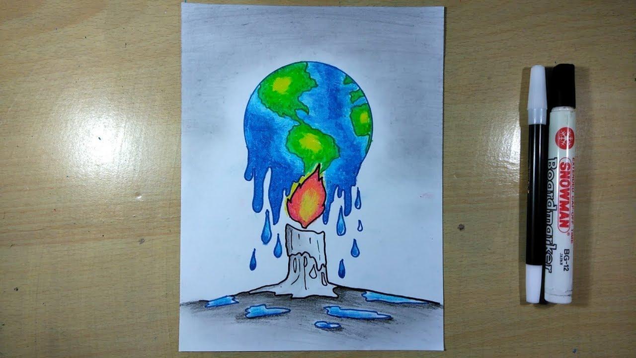 Gambar Poster Stop Global Warming Youtube