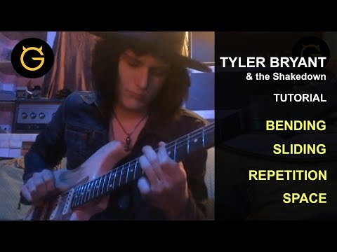 Tyler Bryant's Tutorial On Guitar Techniques He Uses On The Road And In The Studio