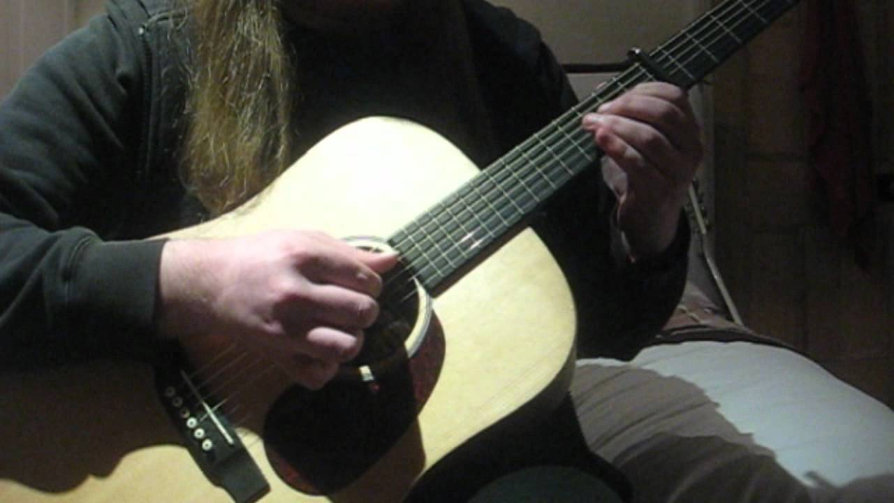 how to play blue moon fingerstyle guitar