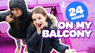 FUNNY 24 HOUR CHALLENGE OVERNIGHT ON BALCONY **Harry Potter** ⏰🌙 | Piper Rockelle
