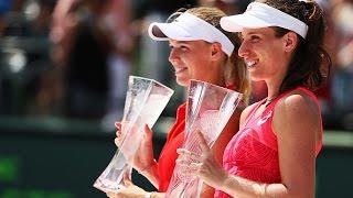 2017 Miami Open Final   Johanna Konta vs Caroline Wozniacki   WTA Highlights