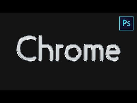 Learn How to Create a Chrome Style Text Effect in Adobe Photoshop