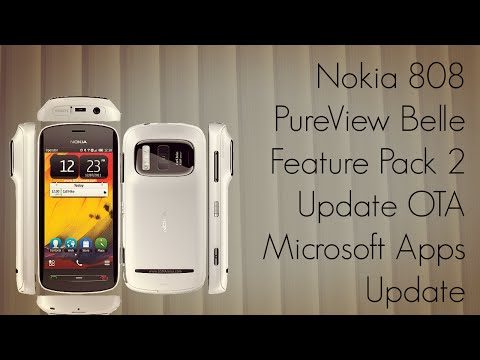 Nokia 808 PureView Belle Feature Pack 2 Update OTA Microsoft Apps Update FP2 - PhoneRadar