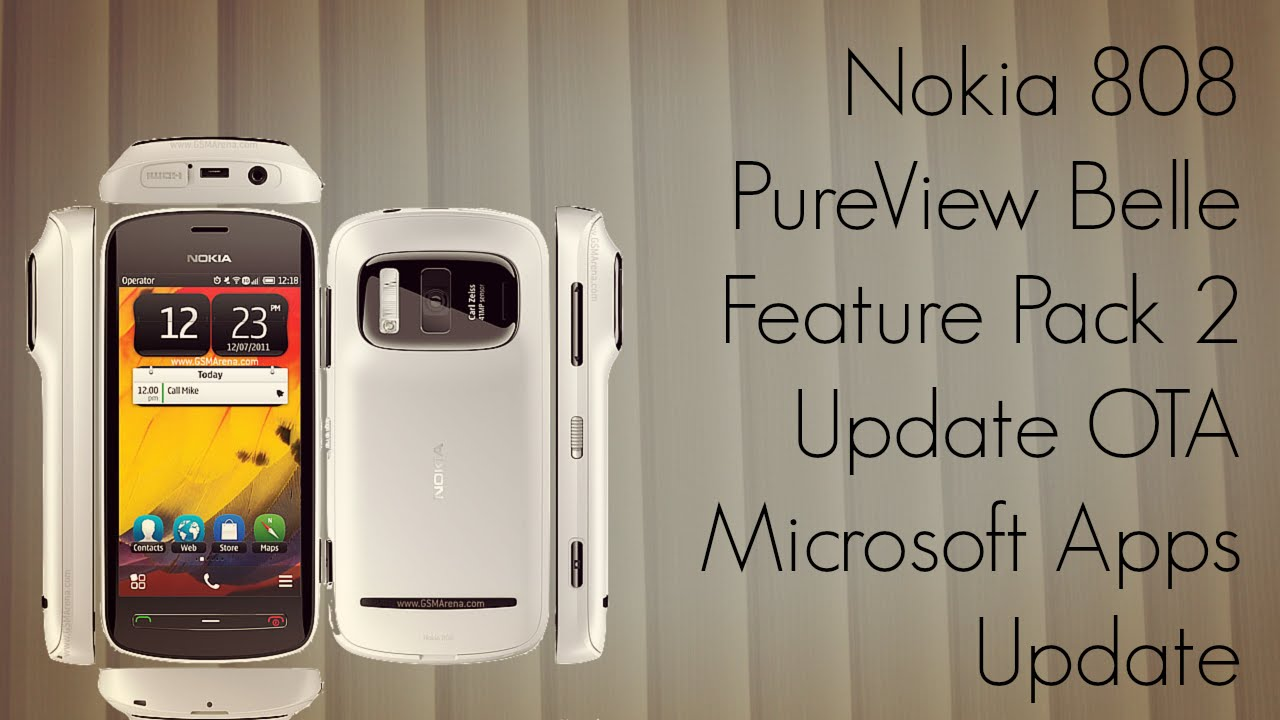 You are here home mobiles devices symbian anna update 25 7 - Nokia 808 Pureview Belle Feature Pack 2 Update Ota Microsoft Apps Update Fp2 Phoneradar Youtube