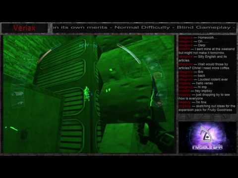 Let's Stream Deus Ex: Invisible War (blind) part 8 - Finding JC Denton