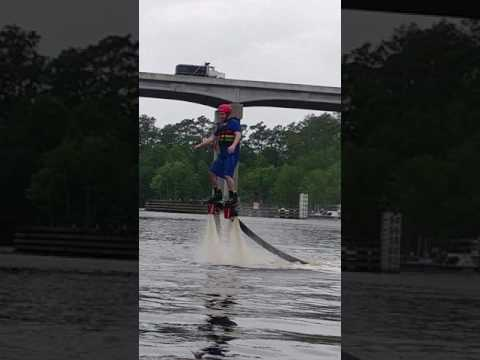 First Flyboarding Session
