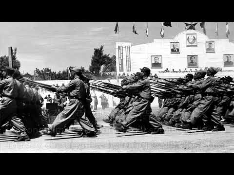 인민군의 노래 - Song of the People's Army (North Korean Pre-Juche Song)