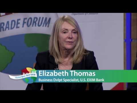 2016 International Trade Forum Session II: Trade Finance