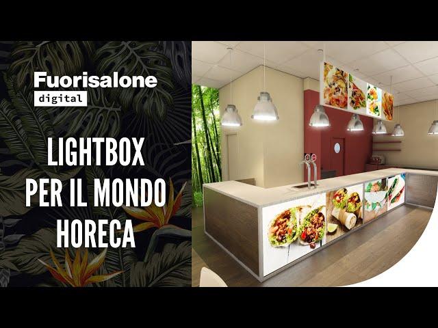 Lumio: lightbox per il mondo Horeca