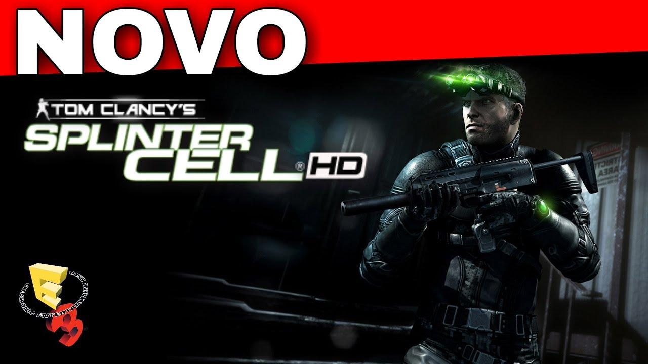 NOVO SPLINTER CELL PARA PS4 XBOX ONE E PC E3 2017 - YouTube
