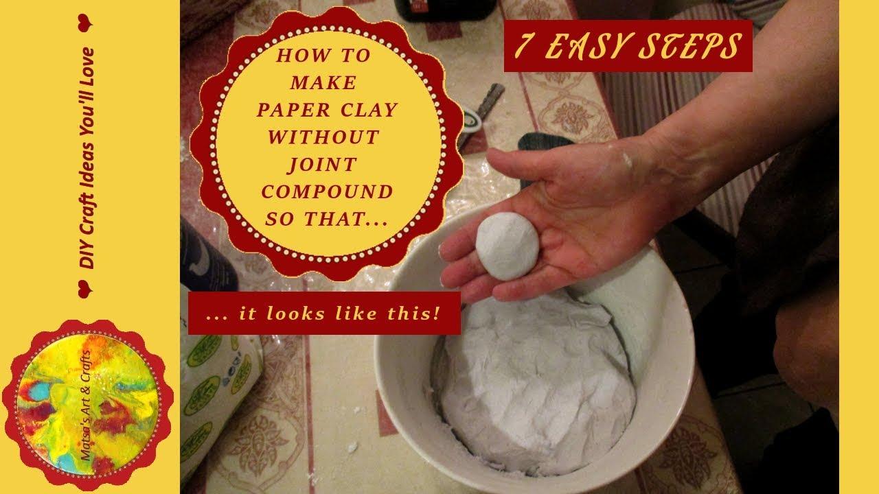 Paper Mache Clay t
