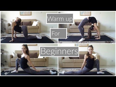 Warm up routine for beginners(Rhythmic gymnastics)