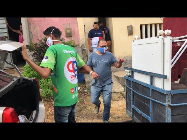 ENTREGA DE MÓVEIS E ALIMENTOS A MÃE DE 5 FILHOS QUE ESTAVA PASSANDO FOME EM ITAMBÉ
