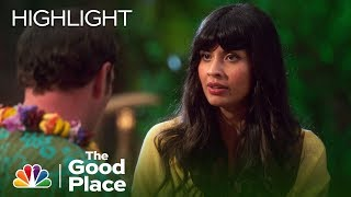 Tahani and John Become Friends - The Good Place (Episode Highlight)