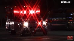 LAFD Rescue 100 Transporting Code 3 to Encino Hospital Medical Center