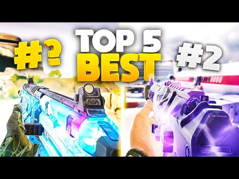 TOP 5 BEST ASSAULT RIFLES in COD Mobile... (SEASON 10)