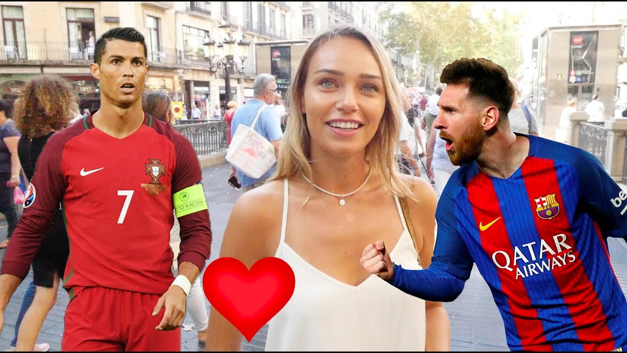 Date MESSI or RONALDO? Spanish girls respond.西班牙女生要美斯還是朗拿度?