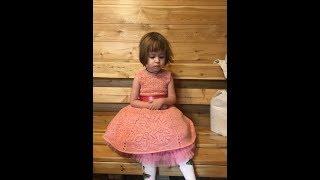 Кокетка 1 часть платья (crochet. coquette)