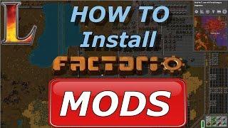 Wie Installiert man Factorio Mods? | Factorio Tutorial | Deutsch/German
