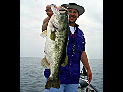 Florida Everglades Lake Okeechobee Bass Fishing with Jerry a