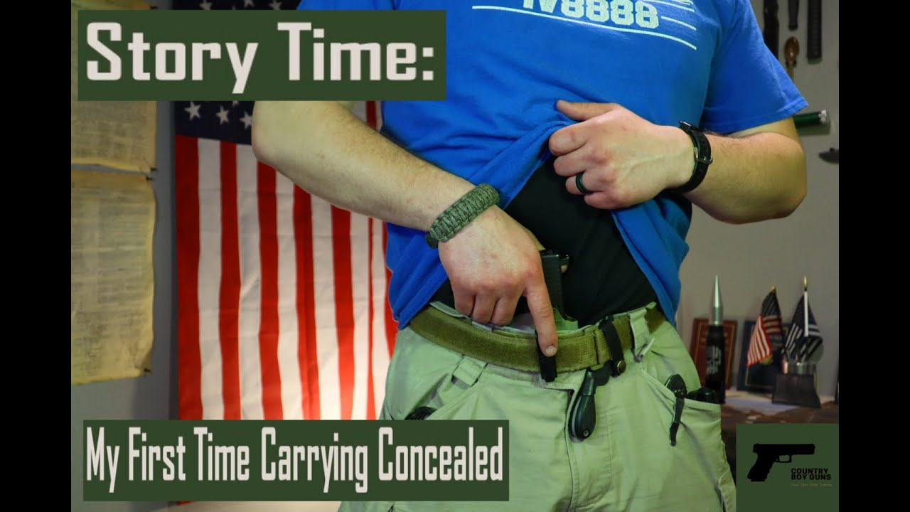Story Time: My First Time Carrying Concealed