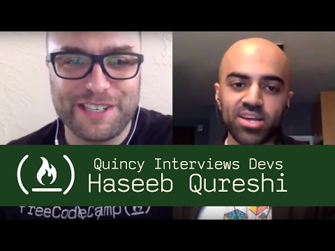 AirBnB Software Engineer Haseeb Qureshi - Quincy Interviews Devs