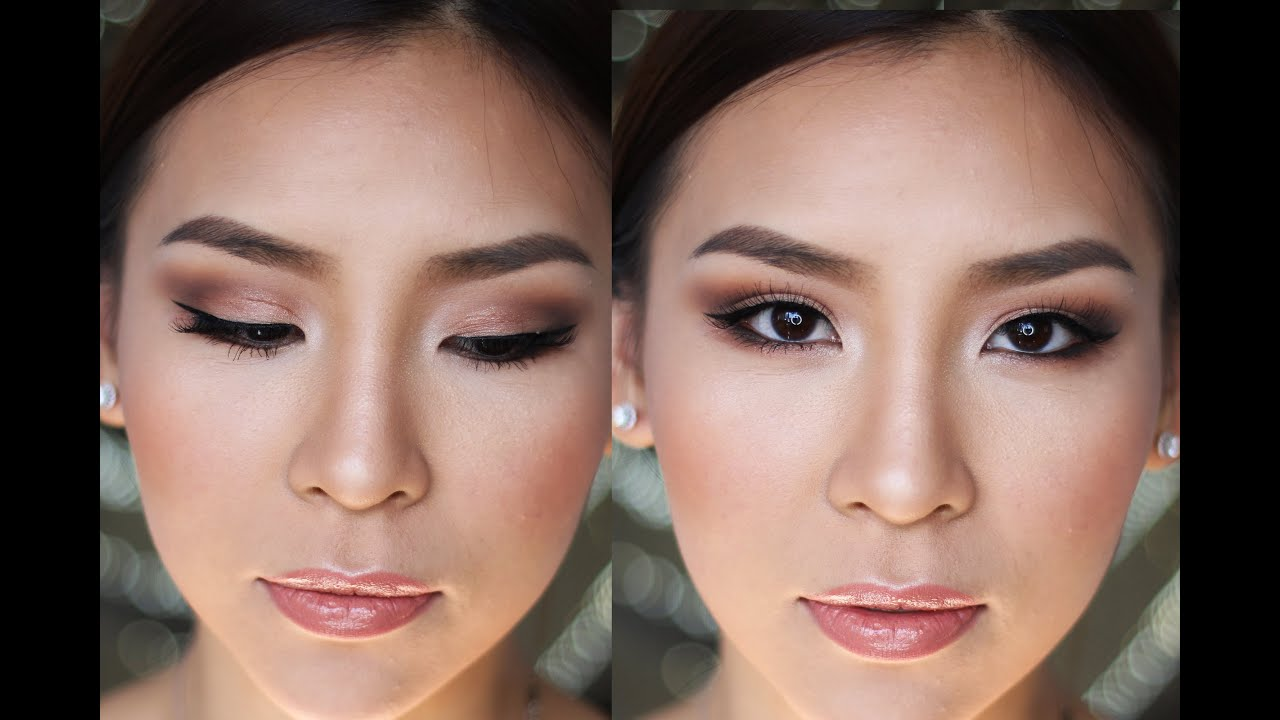Wedding makeup looks natural