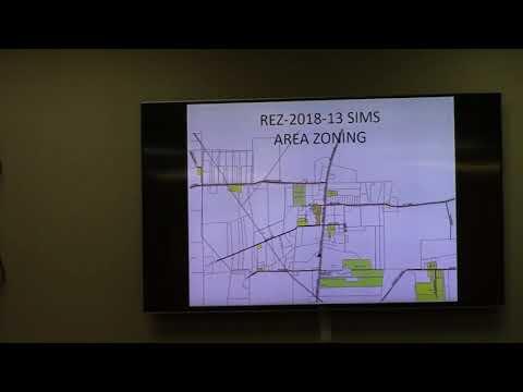 2. REZ-2018-13 Sims, Sims, Jackson Beaver Rd E-A to R-1