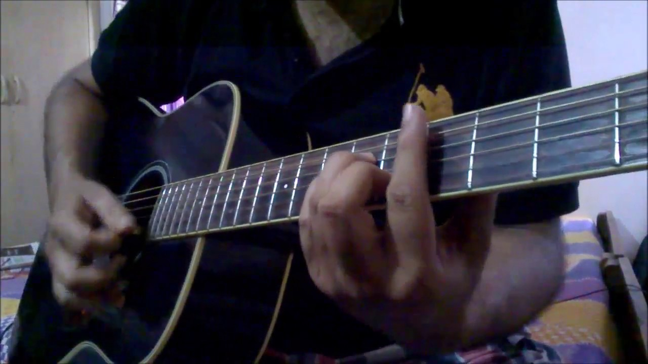 Aadat Jal Guitar Lesson Confrontation With Barre Chords Youtube