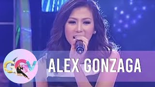 Alex Gonzaga sings