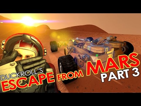 Space Engineers - ESCAPE FROM MARS #3 - Slaughterhouse ('Hardcore' Roleplay Mission/Scenario)
