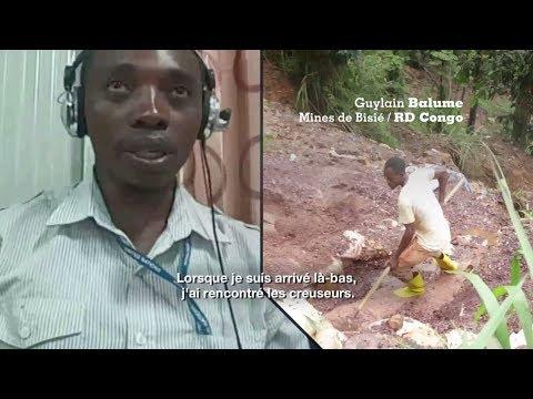 RDC : Plongée dans les mines de Bisié, où les creuseurs artisanaux craignent l'expulsion