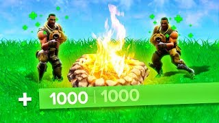 THIS CAMPFIRE WILL MAKE YOU INVINCIBLE! (Fortnite: Battle Royale)