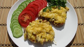 Мясо с грибами по-купечески / Очень сочное и вкусное мясо для праздничного стола.