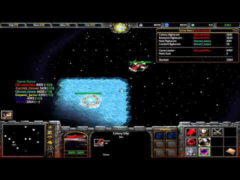 Warcraft 3 TFT - Space Command #2