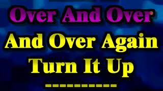 Goo Goo Dolls - Over and Over (Sing-a-long karaoke lyric video)