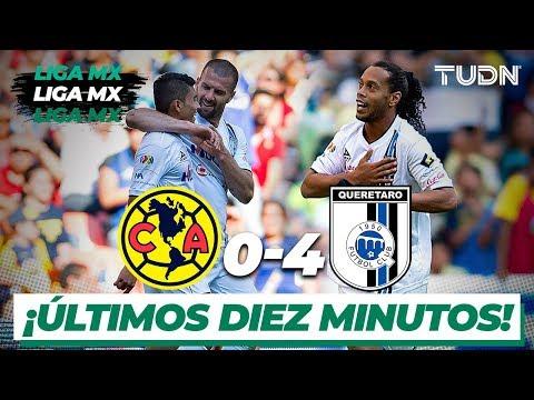¡Los últimos 10 minutos y golazos de Ronaldhino vs América! | Clausura 2015 | TUDN