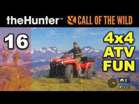CALL OF THE WILD Hunting Game - Ep. 16 - 4x4 ATV Fun