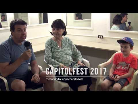 Fay Wray's daughter, Victoria Riskin  at Capitolfest 2017