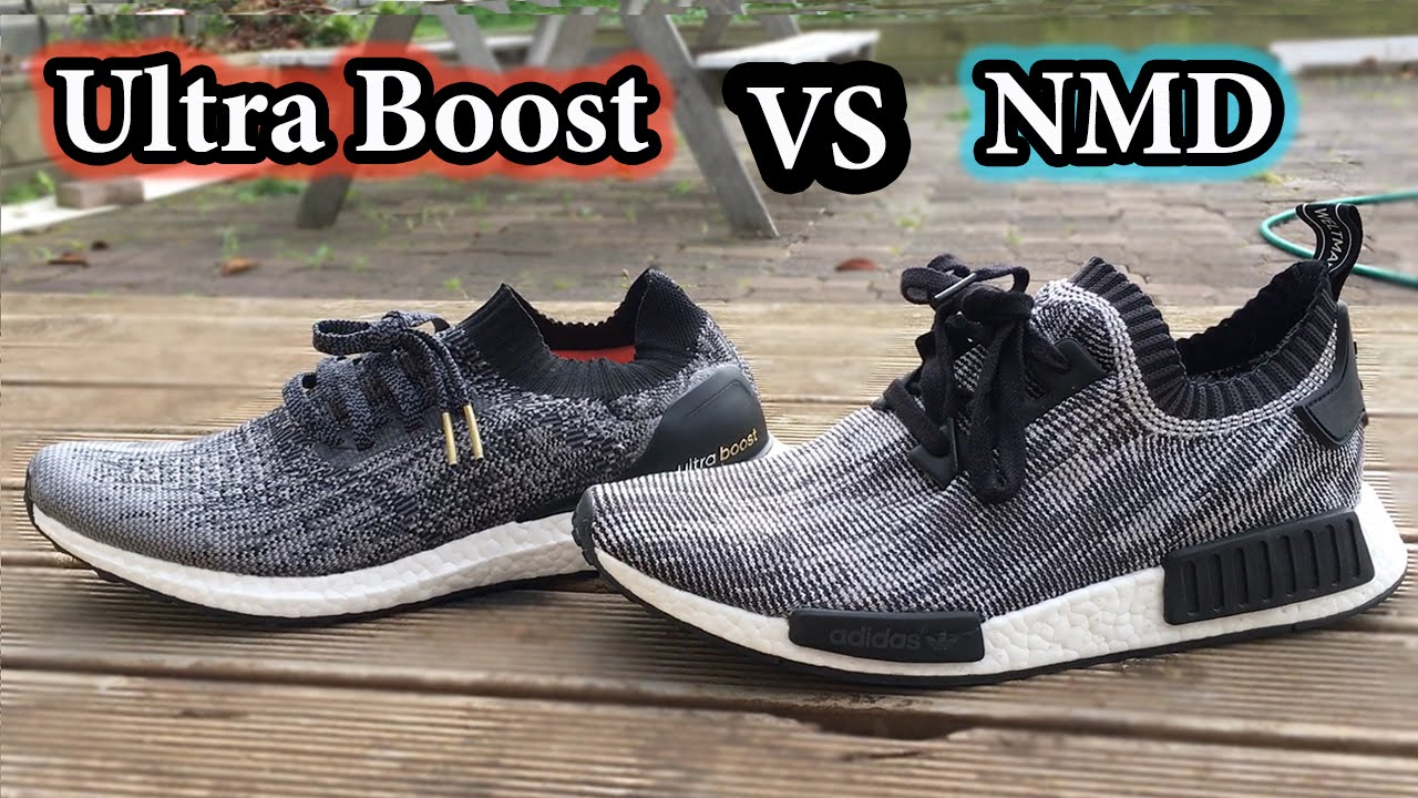Adidas Ultra Boost Fit Vs Nmd